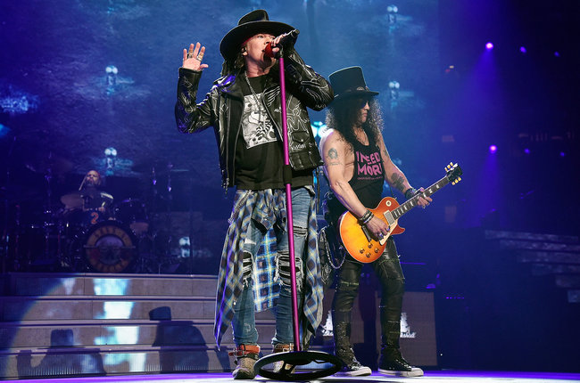 Guns n 39 roses announce fall 2019 dates for not in this - Guns n roses madison square garden 2017 ...