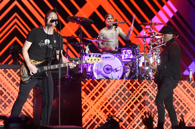c8cb9945400de Blink 182 perform during the 2017 Life is Beautiful Festival on Sept. 22
