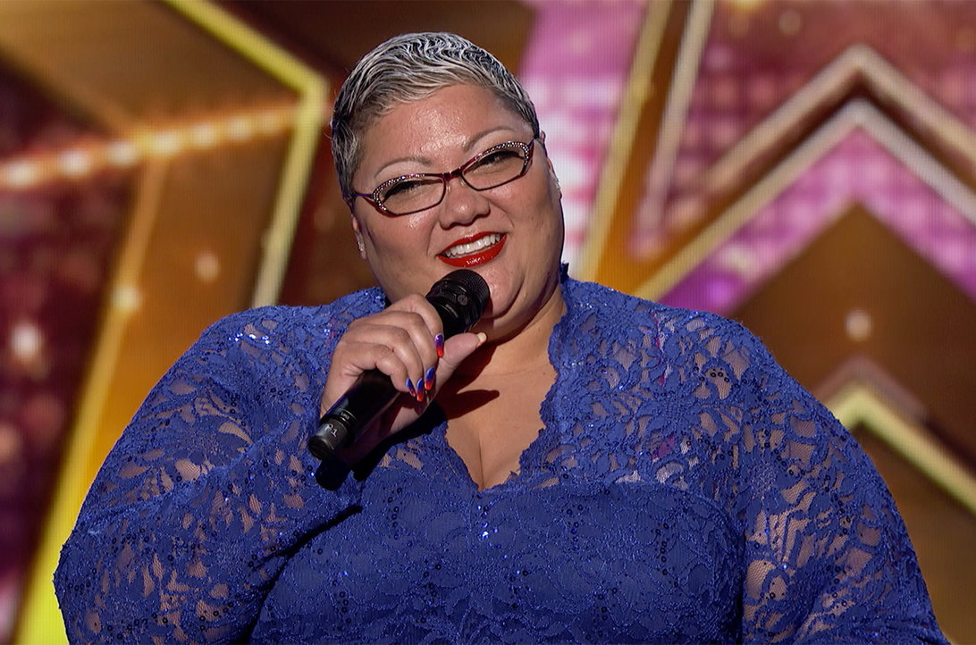 Watch Christina Wells Deliver An Emotional Performance Of Greatest