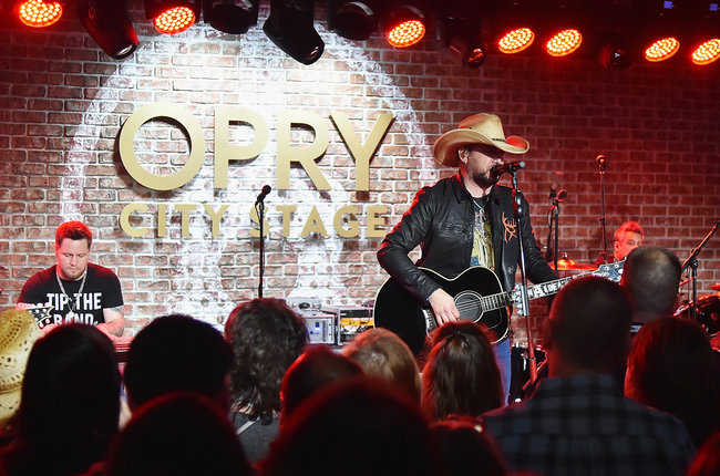 0ca93cd3fbf8b Jason Aldean performs live on SiriusXM s The Highway from Opry City Stage  on April 18